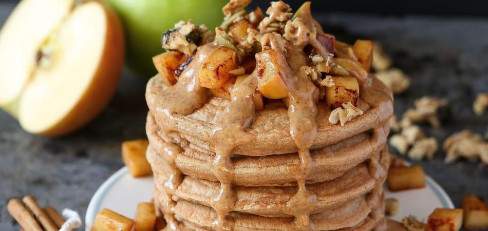 fried apple pancakes